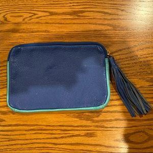 Gap Blue Leather iPad Mini Sleeve